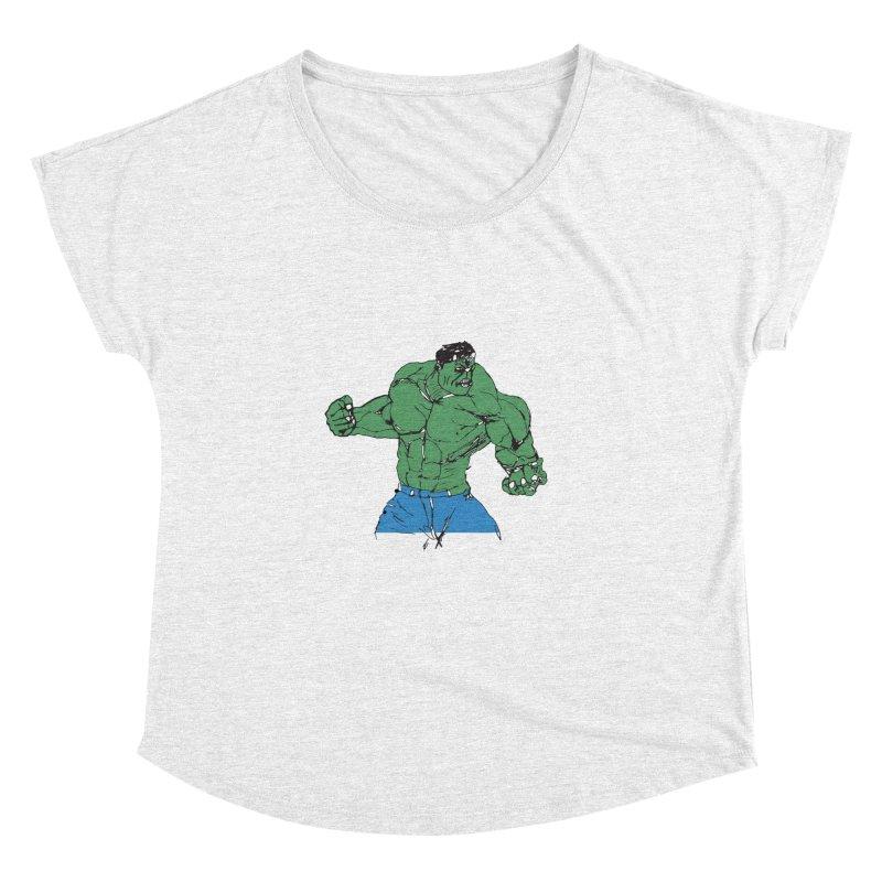 incredible hulk Women's Dolman by BRIANWANDTKEART's Artist Shop