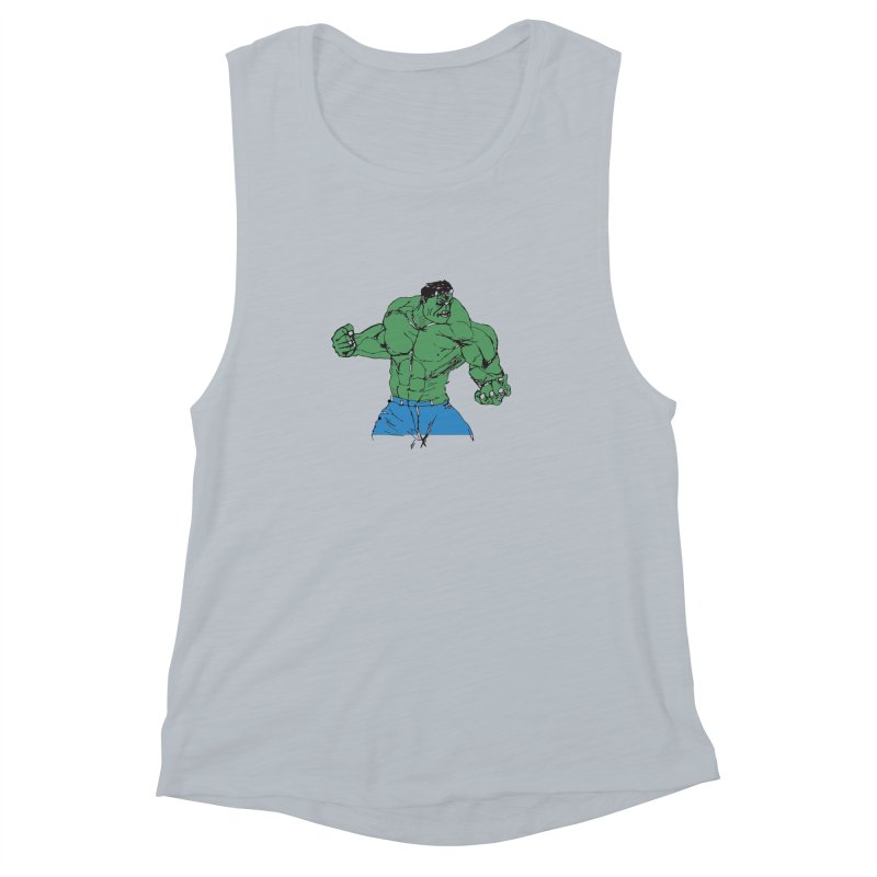 incredible hulk Women's Muscle Tank by BRIANWANDTKEART's Artist Shop