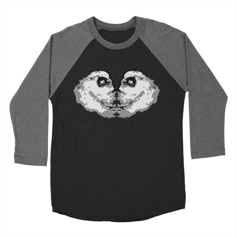 Deuce Skullnado Men's Baseball Triblend Longsleeve T-Shirt by BRIANWANDTKEART's Artist Shop