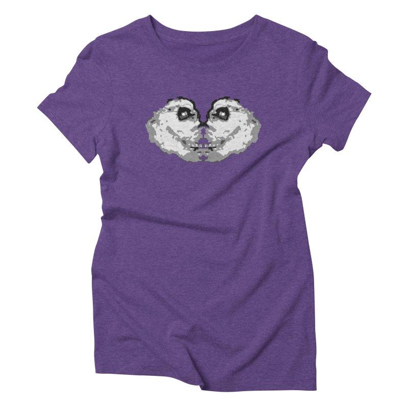 Deuce Skullnado Women's Triblend T-shirt by BRIANWANDTKEART's Artist Shop