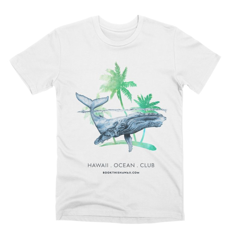BTH.humpback Men's Premium T-Shirt by Book This Hawaii Apparel Shop