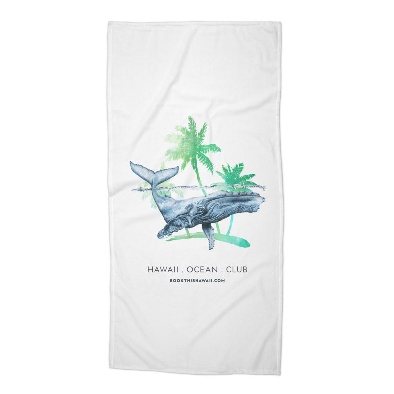 BTH.humpback Accessories Beach Towel by Book This Hawaii Apparel Shop