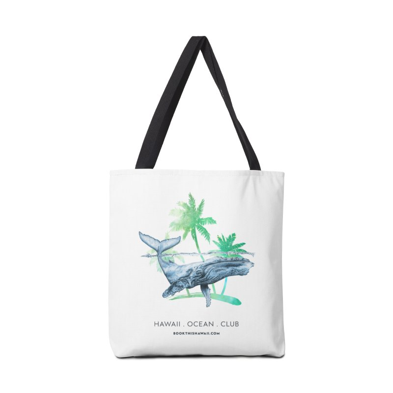 BTH.humpback in Tote Bag by Book This Hawaii Apparel Shop