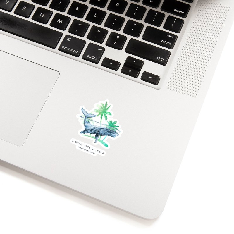 BTH.humpback Accessories Sticker by Book This Hawaii Apparel Shop