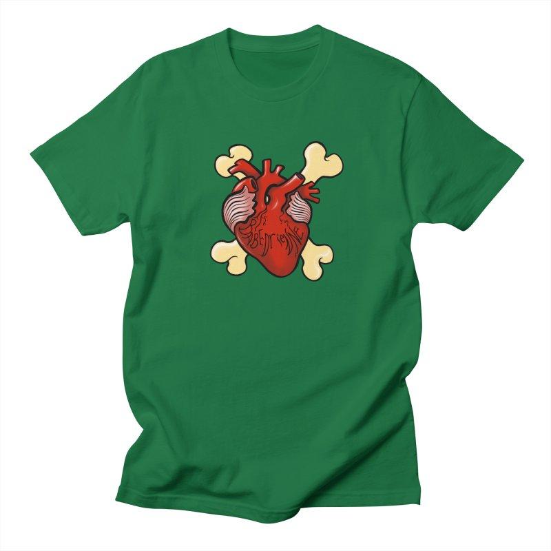 Heart and Crossbones Women's Regular Unisex T-Shirt by Babedrienne's Artist Shop