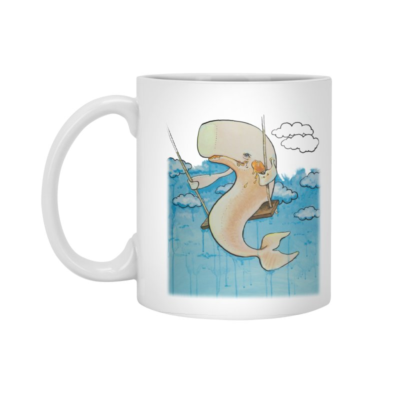 Whale on a Swing (Babedrienne's Brainfarts Cover) Accessories Standard Mug by Babedrienne's Artist Shop