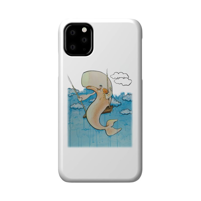 Whale on a Swing (Babedrienne's Brainfarts Cover) Accessories Phone Case by Babedrienne's Artist Shop
