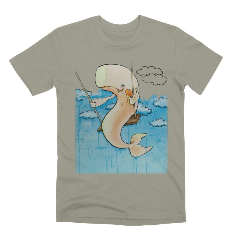 Whale on a Swing (Babedrienne's Brainfarts Cover) Men's Premium T-Shirt by Babedrienne's Artist Shop