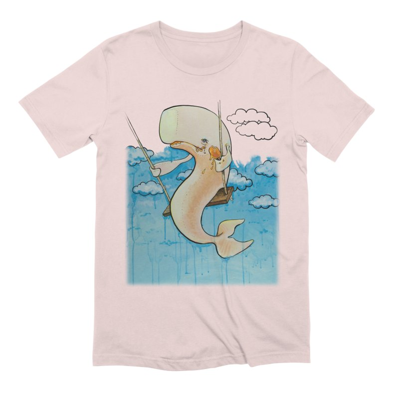 Whale on a Swing (Babedrienne's Brainfarts Cover) Men's Extra Soft T-Shirt by Babedrienne's Artist Shop
