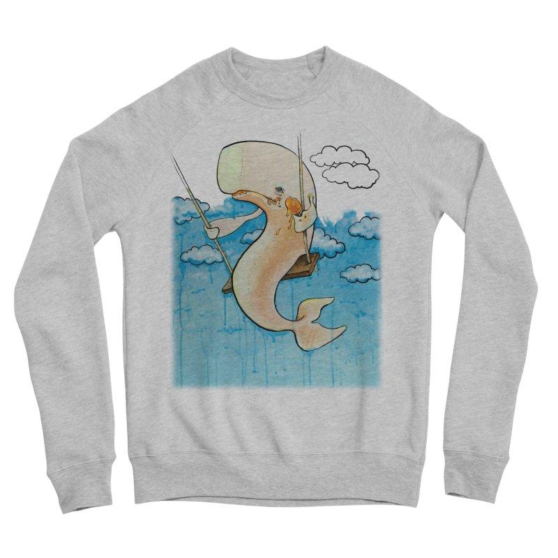 Whale on a Swing (Babedrienne's Brainfarts Cover) Women's Sponge Fleece Sweatshirt by Babedrienne's Artist Shop