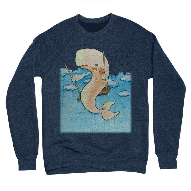 Whale on a Swing (Babedrienne's Brainfarts Cover) Men's Sponge Fleece Sweatshirt by Babedrienne's Artist Shop