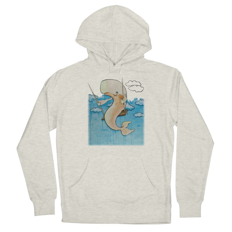 Whale on a Swing (Babedrienne's Brainfarts Cover) Women's French Terry Pullover Hoody by Babedrienne's Artist Shop