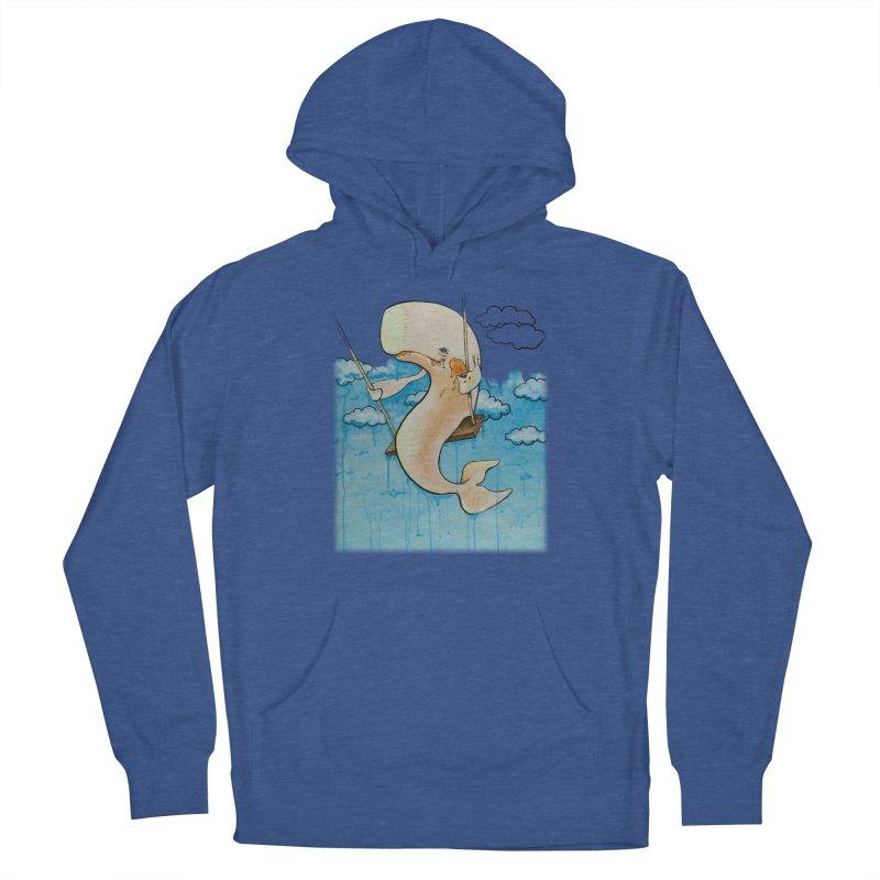 Whale on a Swing (Babedrienne's Brainfarts Cover) Men's Pullover Hoody by Babedrienne's Artist Shop