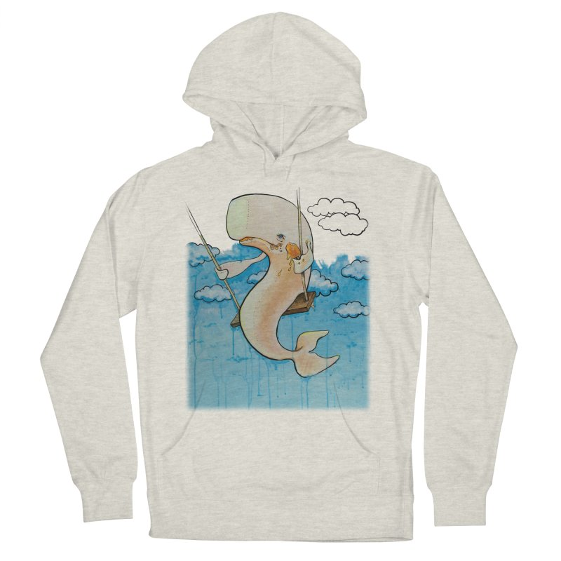 Whale on a Swing (Babedrienne's Brainfarts Cover) Men's French Terry Pullover Hoody by Babedrienne's Artist Shop