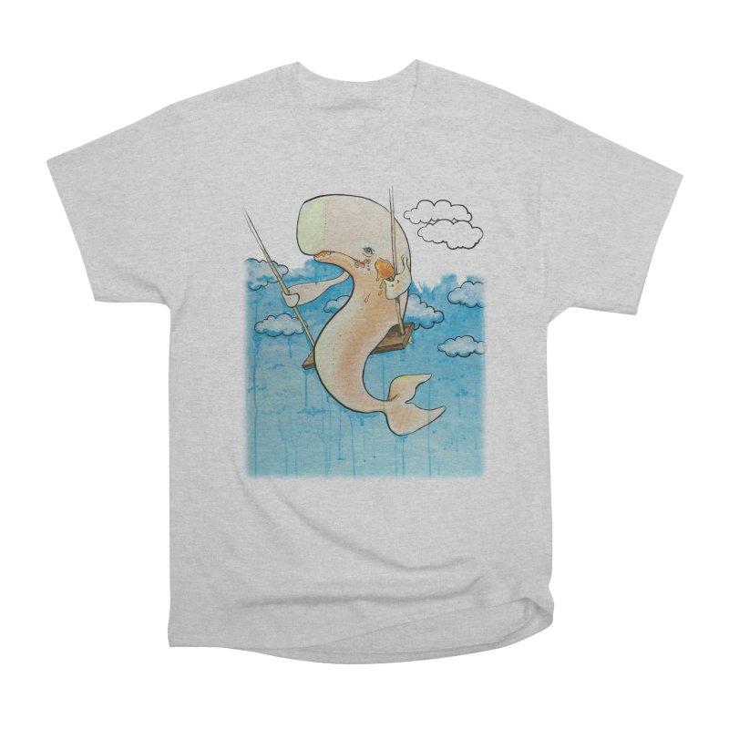 Whale on a Swing (Babedrienne's Brainfarts Cover) Women's Heavyweight Unisex T-Shirt by Babedrienne's Artist Shop