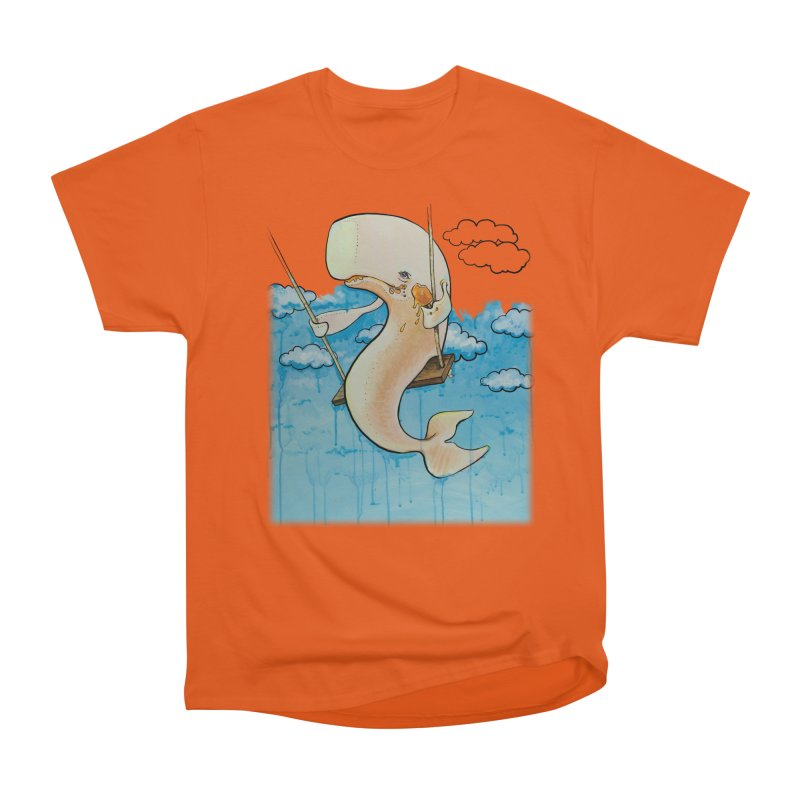 Whale on a Swing (Babedrienne's Brainfarts Cover) Men's Heavyweight T-Shirt by Babedrienne's Artist Shop