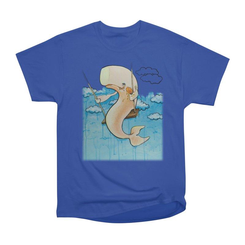 Whale on a Swing (Babedrienne's Brainfarts Cover) Men's Heavyweight T-Shirt by Babedrienne's Artist Shop