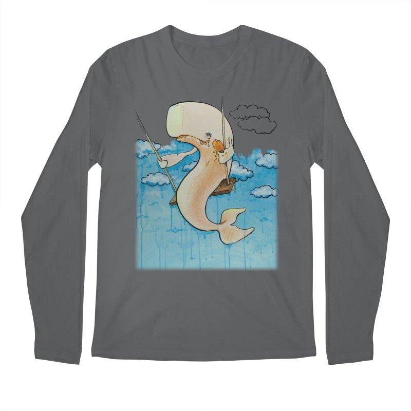 Whale on a Swing (Babedrienne's Brainfarts Cover) Men's Regular Longsleeve T-Shirt by Babedrienne's Artist Shop