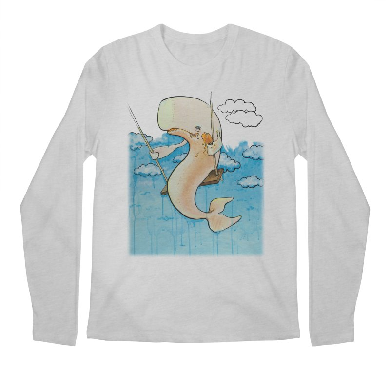 Whale on a Swing (Babedrienne's Brainfarts Cover) Men's Regular Longsleeve T-Shirt by Babedrienne's Artist Shop