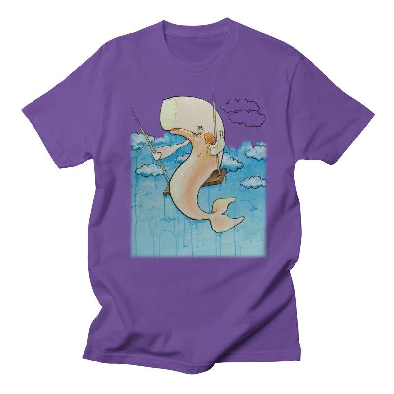 Whale on a Swing (Babedrienne's Brainfarts Cover) Men's Regular T-Shirt by Babedrienne's Artist Shop