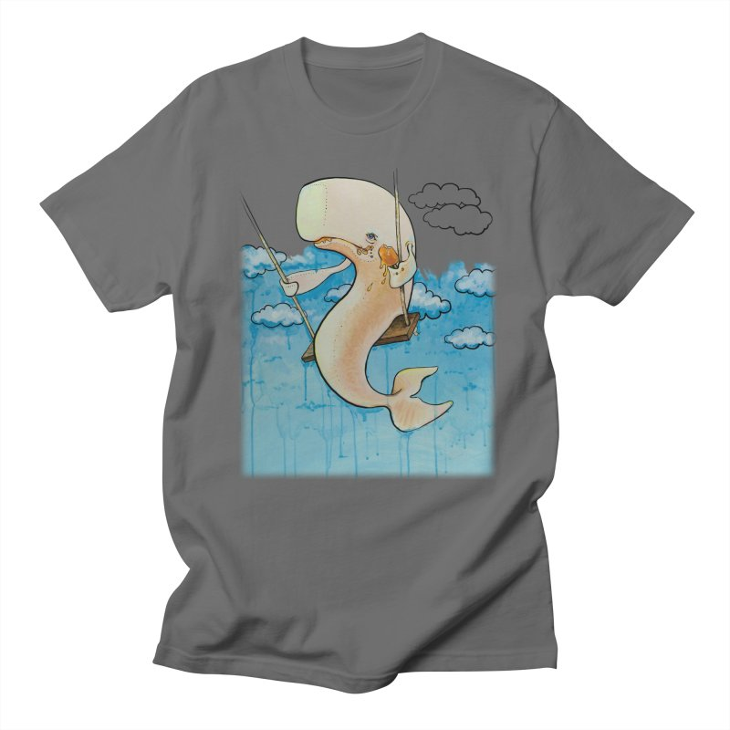 Whale on a Swing (Babedrienne's Brainfarts Cover) Men's T-Shirt by Babedrienne's Artist Shop