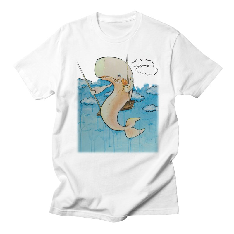Whale on a Swing (Babedrienne's Brainfarts Cover) Women's Regular Unisex T-Shirt by Babedrienne's Artist Shop
