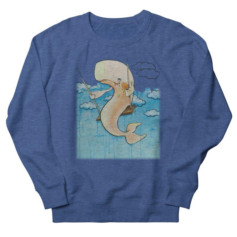 Whale on a Swing (Babedrienne's Brainfarts Cover) Women's French Terry Sweatshirt by Babedrienne's Artist Shop