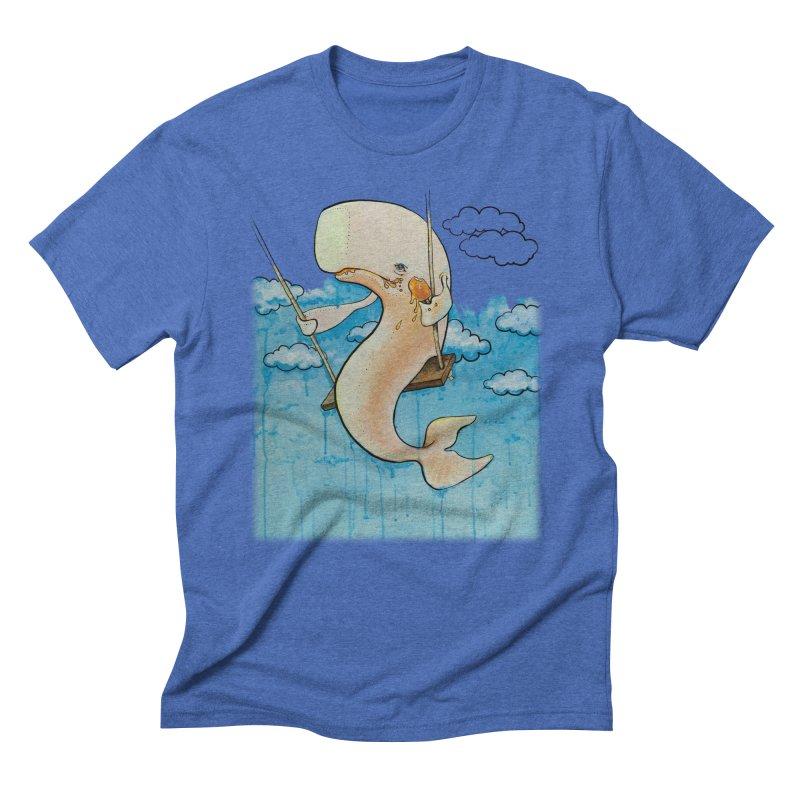 Whale on a Swing (Babedrienne's Brainfarts Cover) Men's T-Shirt by Babedrienne's Artist Shop