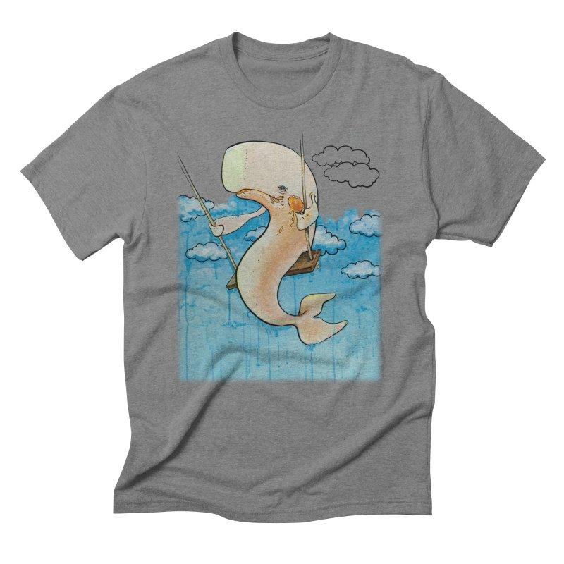 Whale on a Swing (Babedrienne's Brainfarts Cover) Men's Triblend T-Shirt by Babedrienne's Artist Shop