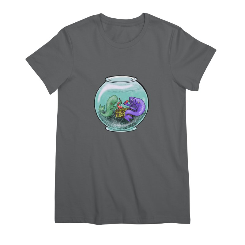 Chadd Lacy Whale Fishbowl Women's T-Shirt by Babedrienne's Artist Shop