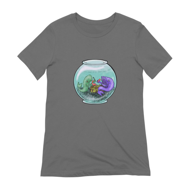 Chadd Lacy Whale Fishbowl Women's Extra Soft T-Shirt by Babedrienne's Artist Shop