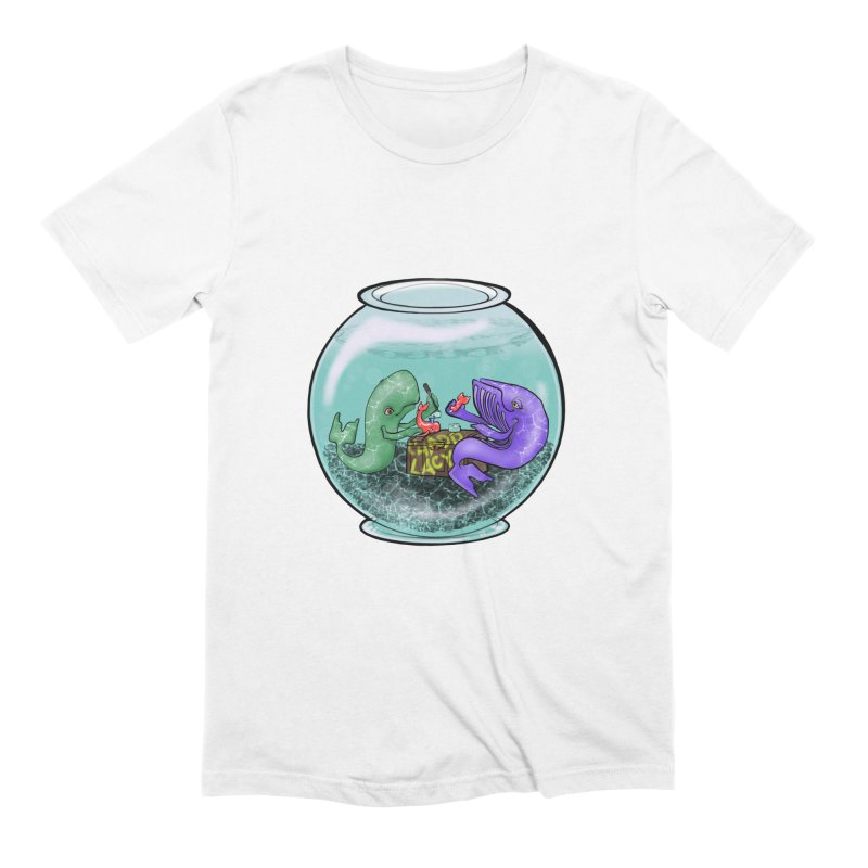 Chadd Lacy Whale Fishbowl Men's Extra Soft T-Shirt by Babedrienne's Artist Shop
