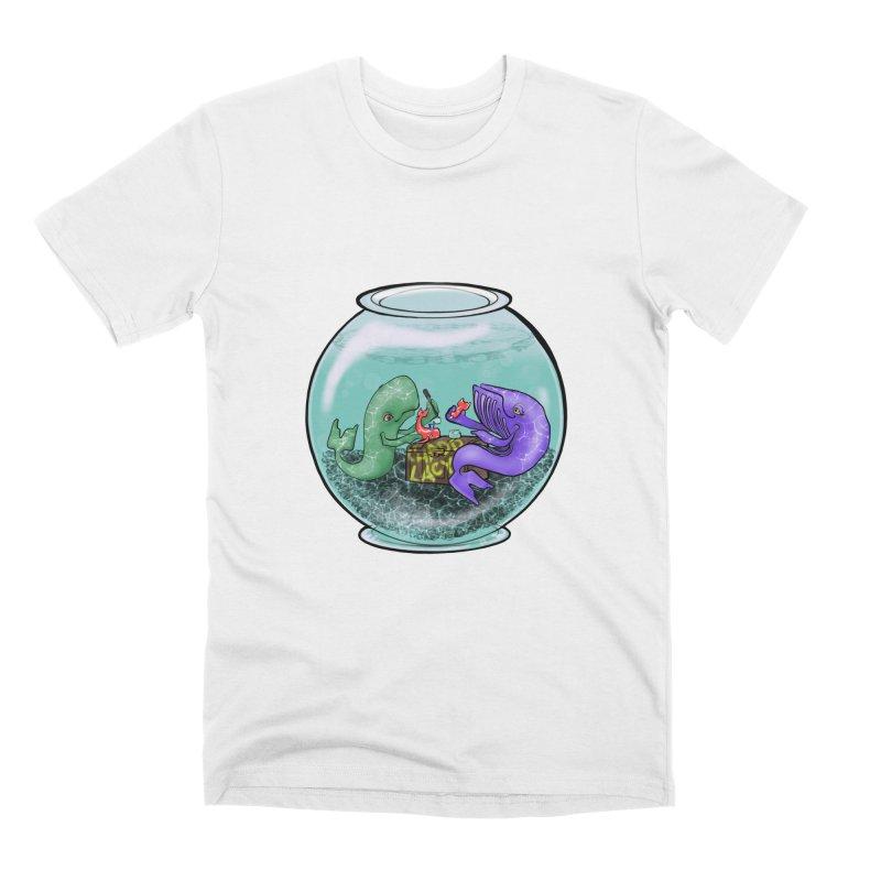 Chadd Lacy Whale Fishbowl Men's Premium T-Shirt by Babedrienne's Artist Shop