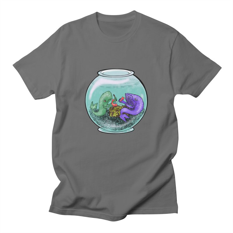 Chadd Lacy Whale Fishbowl Men's T-Shirt by Babedrienne's Artist Shop