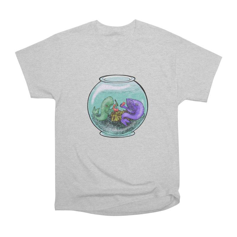 Chadd Lacy Whale Fishbowl Women's Heavyweight Unisex T-Shirt by Babedrienne's Artist Shop