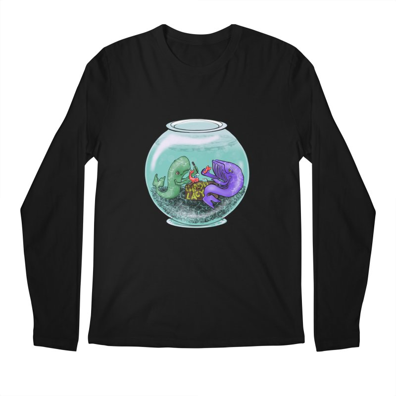 Chadd Lacy Whale Fishbowl Men's Regular Longsleeve T-Shirt by Babedrienne's Artist Shop