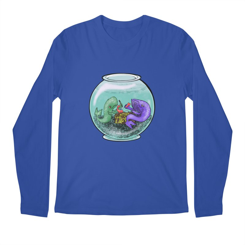 Chadd Lacy Whale Fishbowl Men's Regular Longsleeve T-Shirt by Babedrienne's Artist Shop