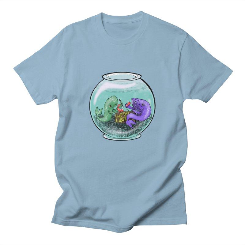 Chadd Lacy Whale Fishbowl Women's Regular Unisex T-Shirt by Babedrienne's Artist Shop