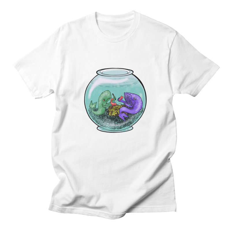Chadd Lacy Whale Fishbowl Women's Regular Unisex T-Shirt by Babedrienne's Artist Shop