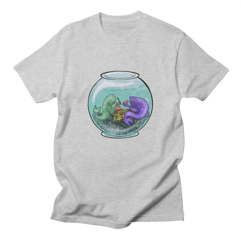 Chadd Lacy Whale Fishbowl Men's Regular T-Shirt by Babedrienne's Artist Shop