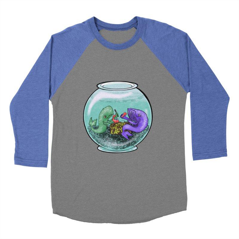 Chadd Lacy Whale Fishbowl Women's Baseball Triblend Longsleeve T-Shirt by Babedrienne's Artist Shop