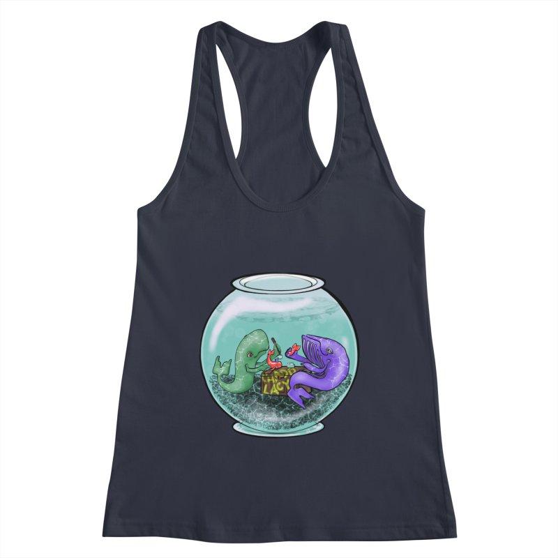 Chadd Lacy Whale Fishbowl Women's Tank by Babedrienne's Artist Shop