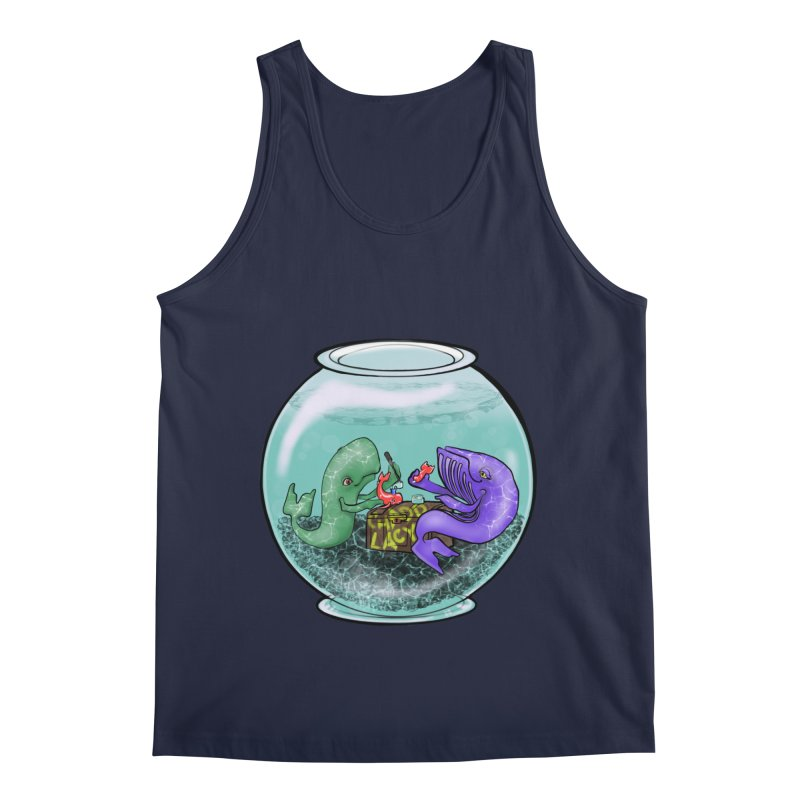 Chadd Lacy Whale Fishbowl Men's Regular Tank by Babedrienne's Artist Shop