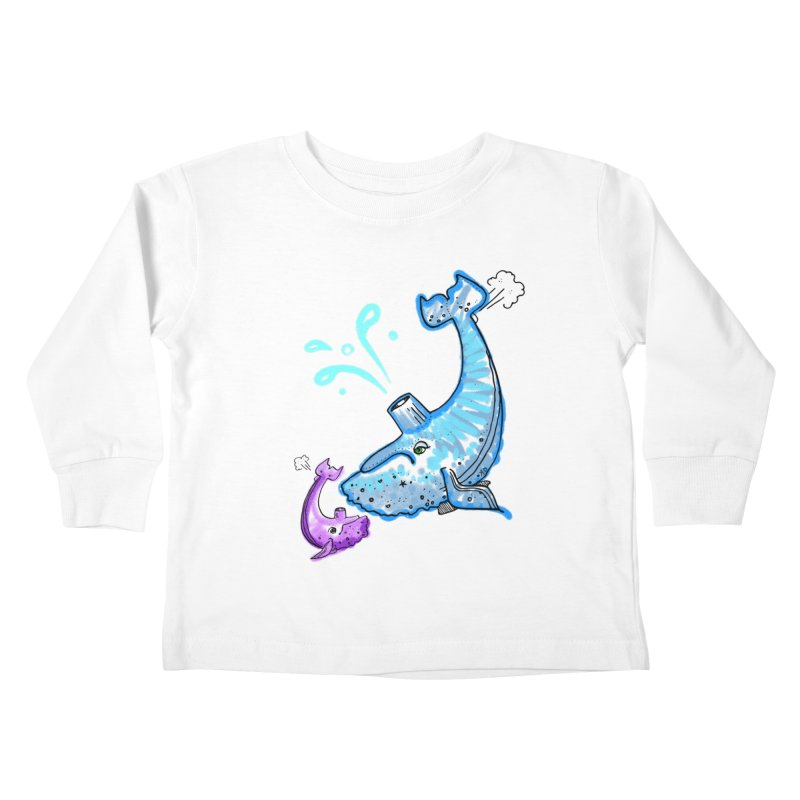 Mother and Child Reunion Kids Toddler Longsleeve T-Shirt by Babedrienne's Artist Shop