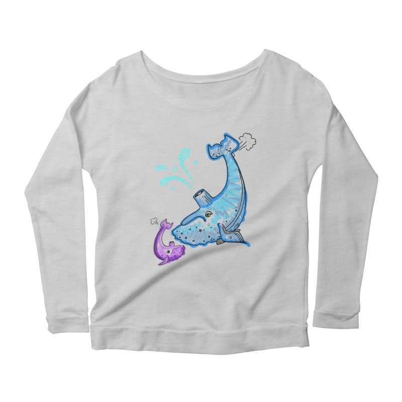 Mother and Child Reunion Women's Scoop Neck Longsleeve T-Shirt by Babedrienne's Artist Shop