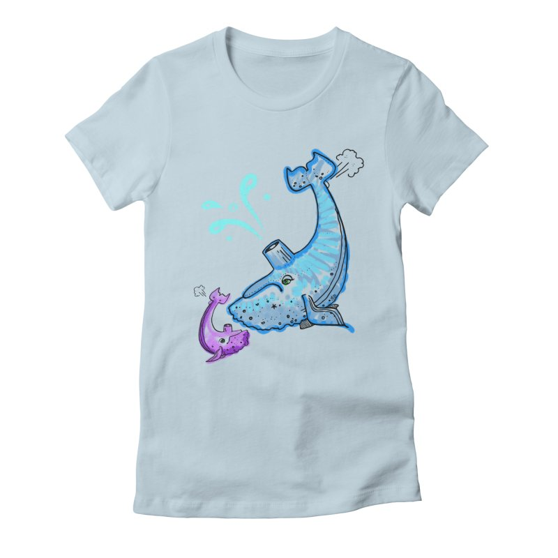 Mother and Child Reunion Women's Fitted T-Shirt by Babedrienne's Artist Shop