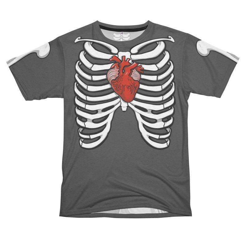 Babedrienne's Bones Men's French Terry T-Shirt Cut & Sew by Babedrienne's Artist Shop