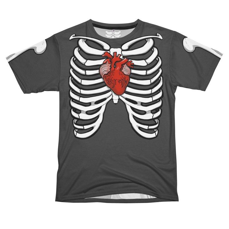 Babedrienne's Bones Women's Unisex T-Shirt Cut & Sew by Babedrienne's Artist Shop