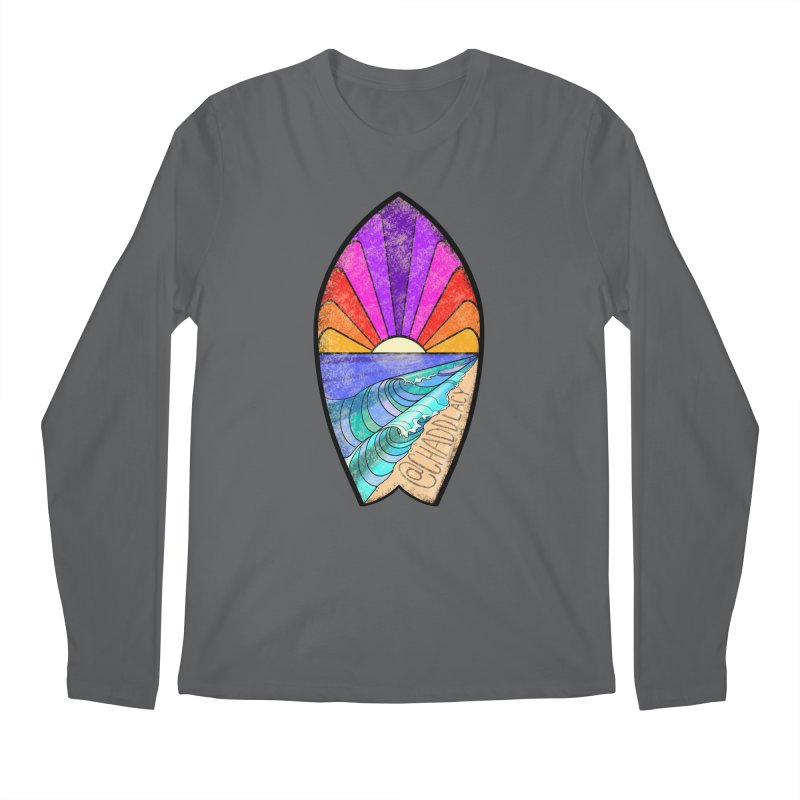 Sunset Surfboard Men's Regular Longsleeve T-Shirt by Babedrienne's Artist Shop