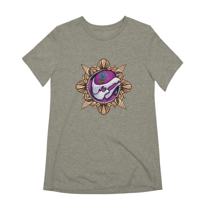 Analog Beluga Women's Extra Soft T-Shirt by Babedrienne's Artist Shop